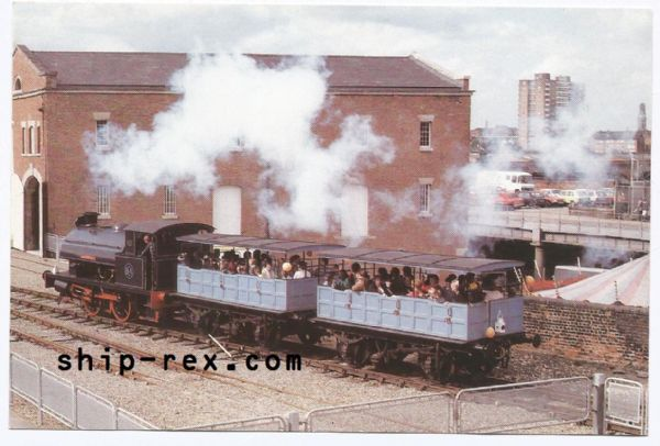 Agecroft at Manchester Museum of Science and Industry - postcard